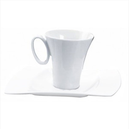 Sous tasse porcelaine LUXE