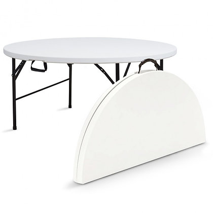location Table ronde pliable 8 pers