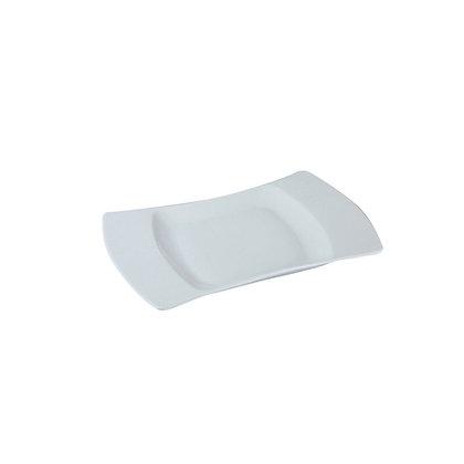 Assiette carrée RUBIS - 20x14 cm