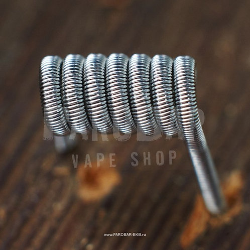 Намотка Fused Clapton Coil