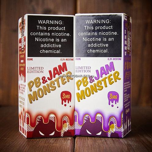 Жидкость Jam Monster PB & Jam100 мл USA