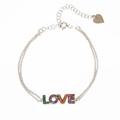 "Bracelet ""Love"" en argent 925"