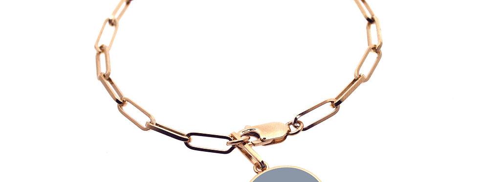 "Bracelet ""Coeur"" rectangulaire"