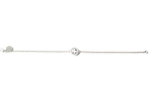 """Bracelet """"Peace & Love"""" en argent"""