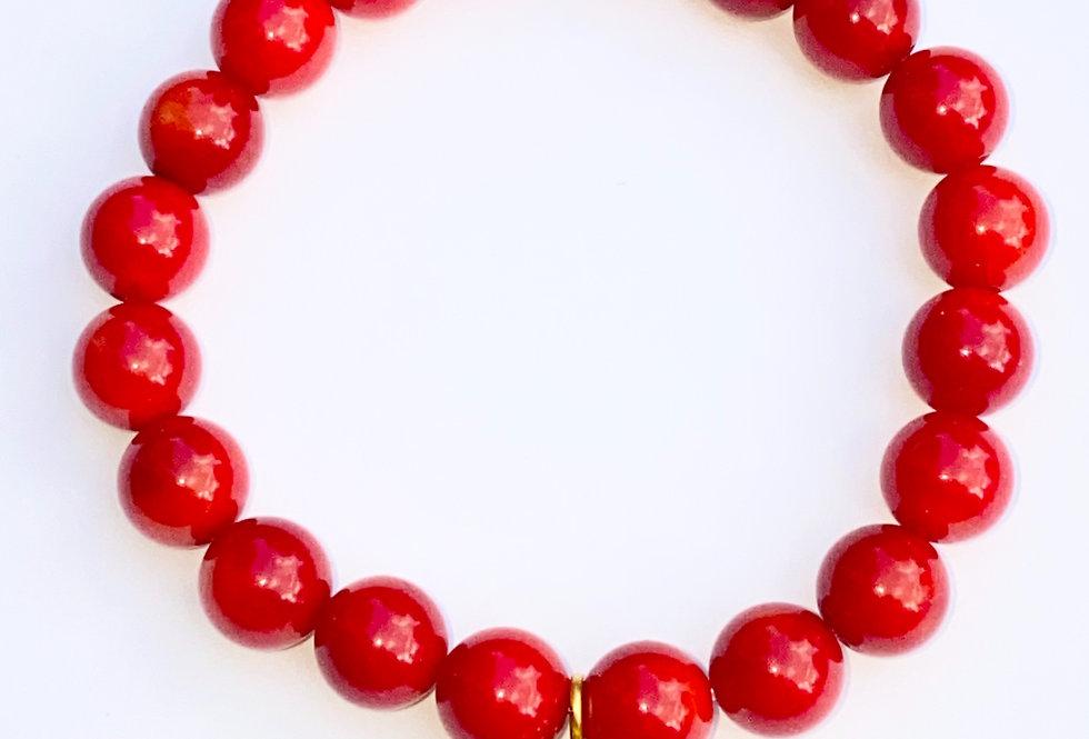 Bracelet corail