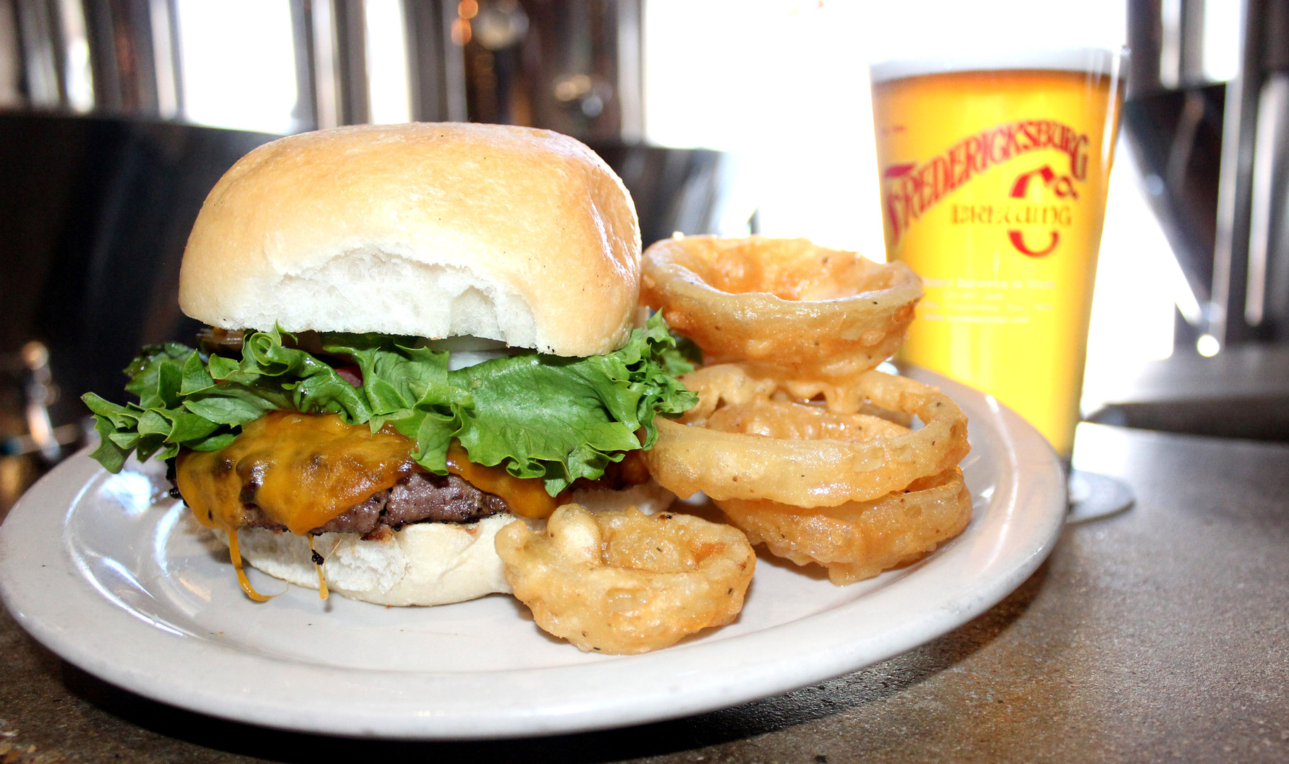Our Ale Burger