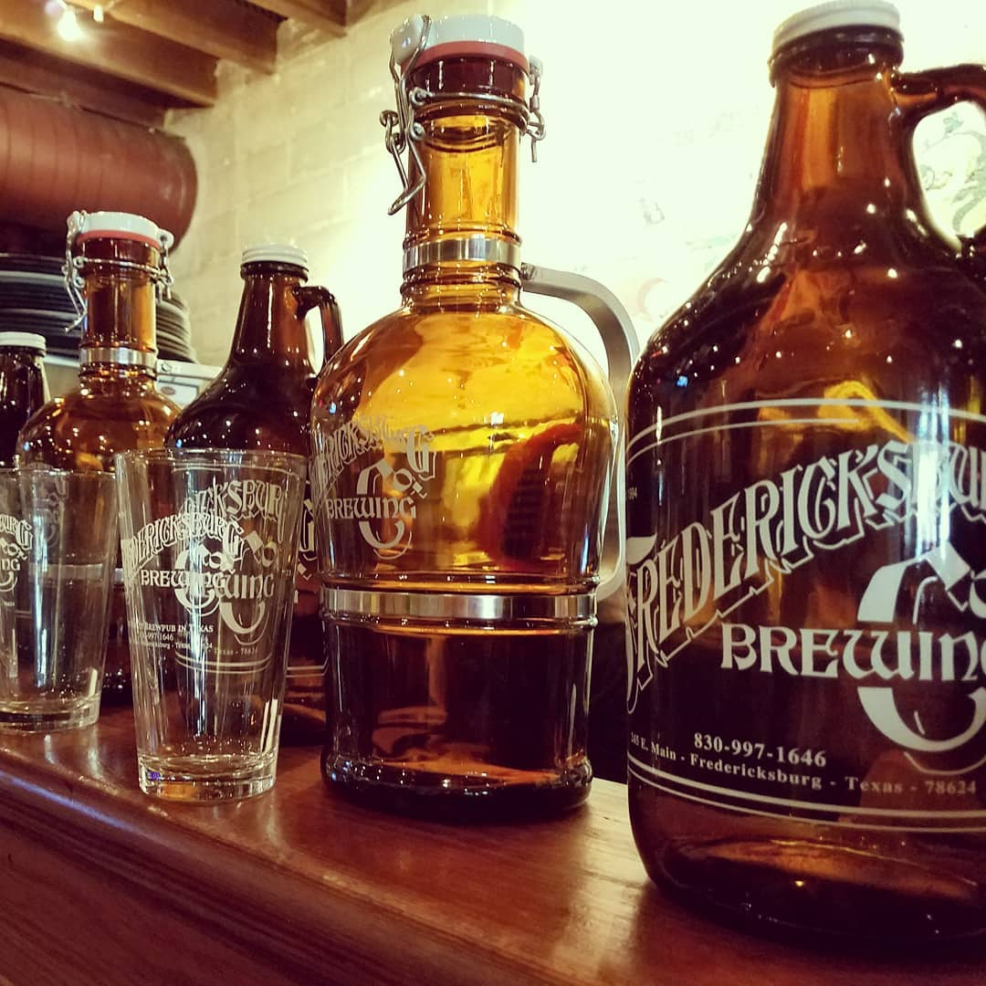 Growlers and pints