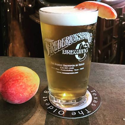 Peach Ale - a popular seasonal brew
