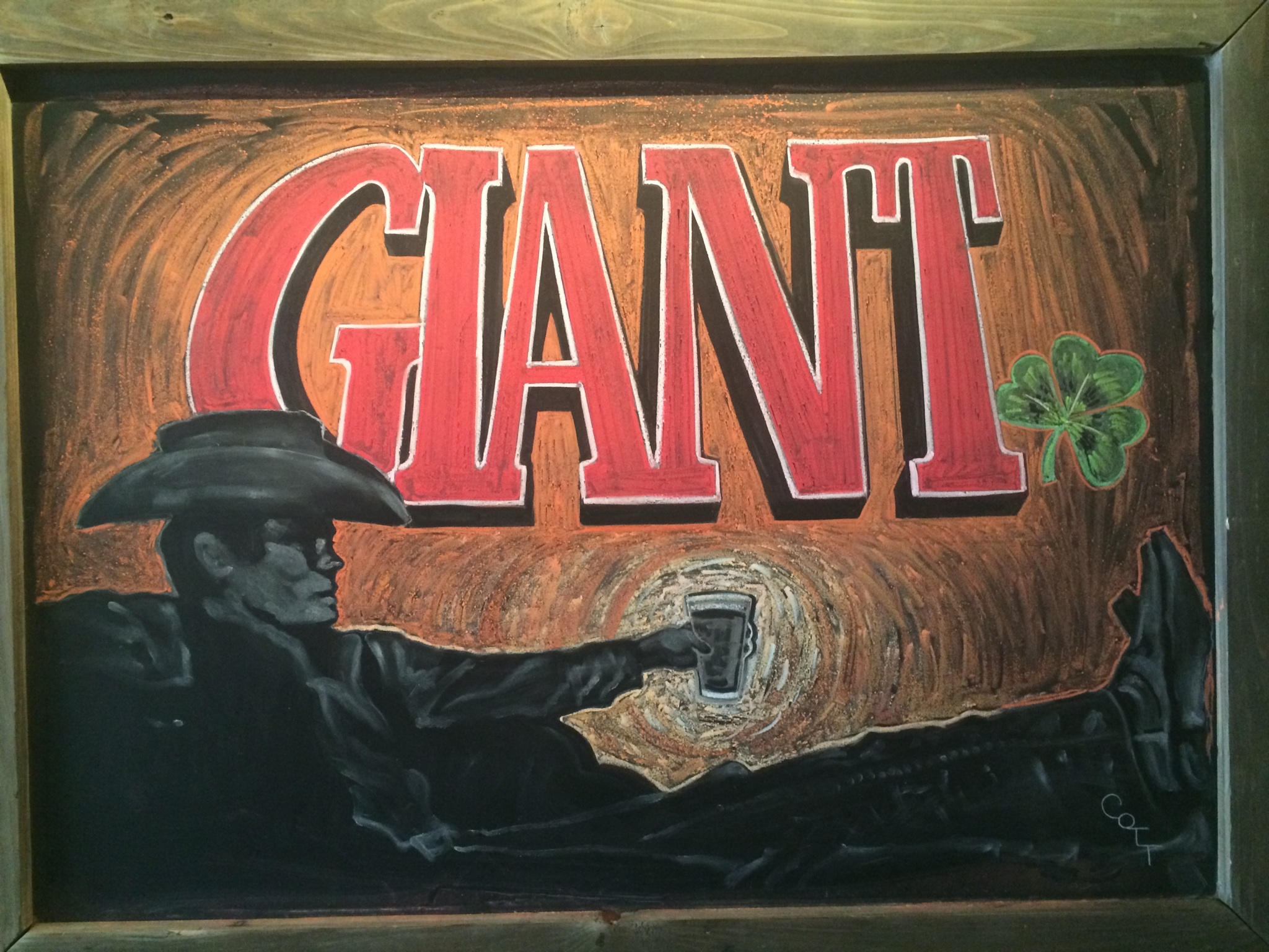 The Giant - a chocolatey stout