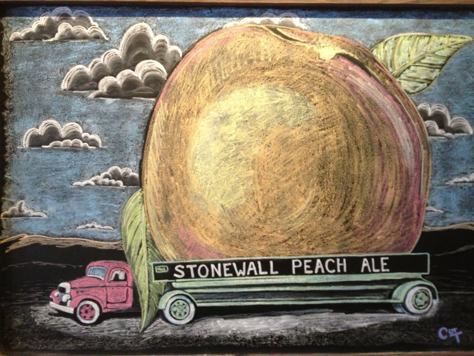 Stonewall Peach Ale - a summertime favorite