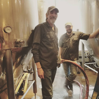 Brewers at work