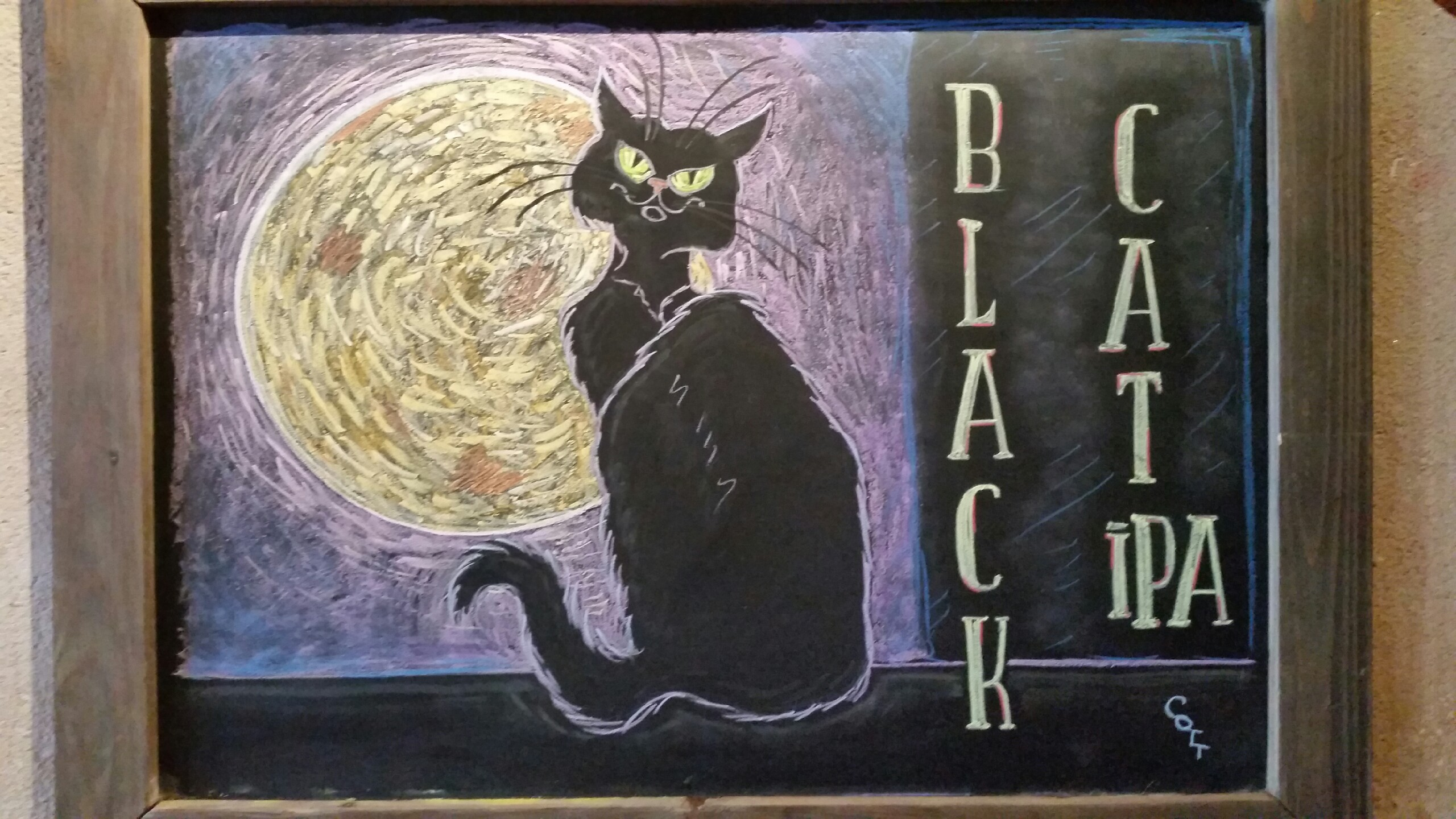 Black Cat IPA - Seasonal Brew