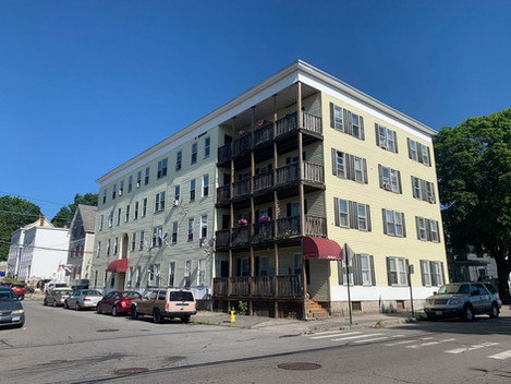 SALE OF A 12 UNIT MULTIFAMILY APARTMENT BUILDING IN MANCHESTER NH FOR 1.275 MILLION