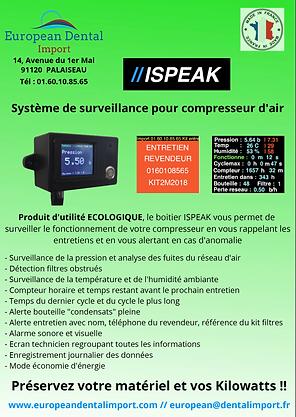 ISPEAK surveillance compresseur