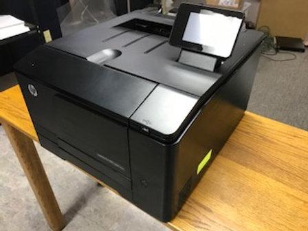 HP LaserJet Pro 200 color printer