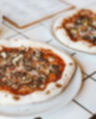 Persoonlijke Mushroom Pizza