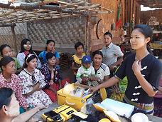 mao boa Myanmar ateliers femmes énergie geres