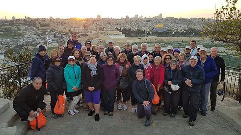 2019 Tour Group Pic Jerusalem Overlook.j