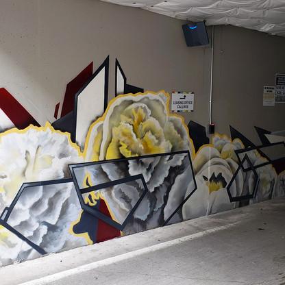 Apartment Parking Garage Mural