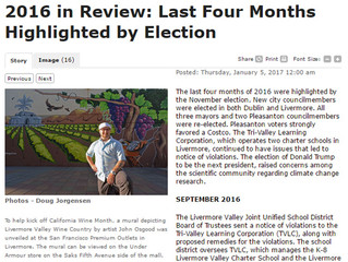 San Francisco Bay Area Mural Artist: Year in Review