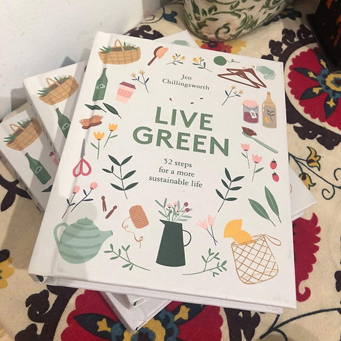 Live Green Book by Jen Chillingsworth