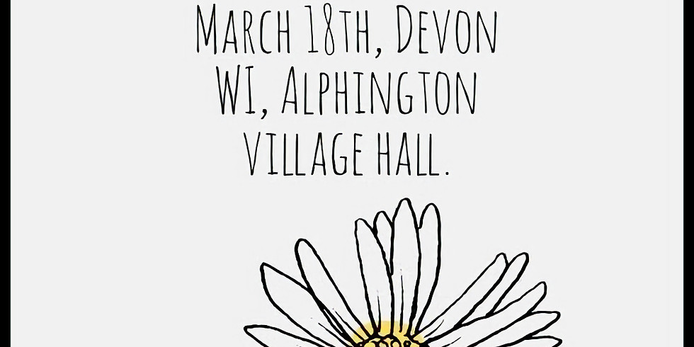WI Alphington Stall and Eco Talk CANCELLED DUE TO COVID-19