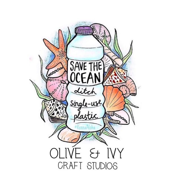 Save the ocean go plastic free