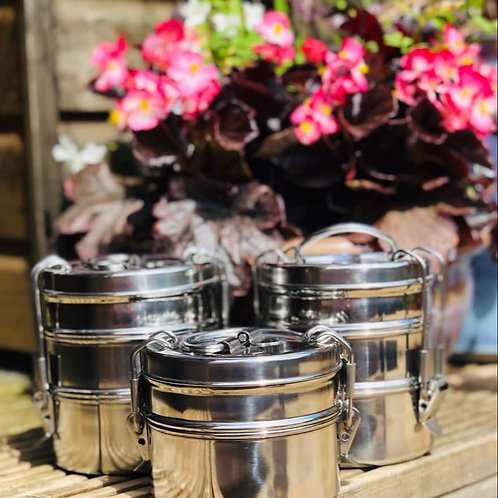 3 Tier Stainless Steel Tiffin lunch box