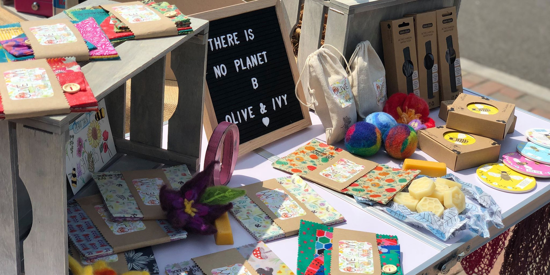 My market stall available at various events