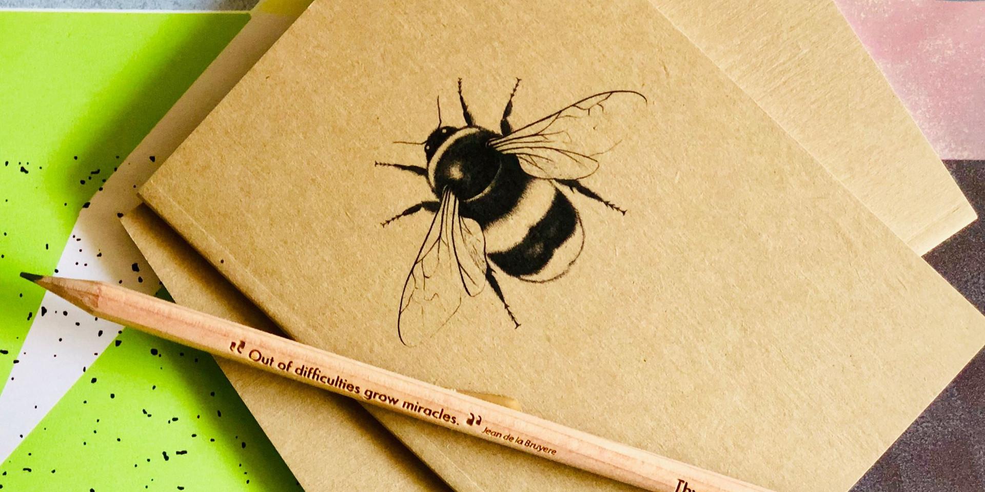 A6 Bee Notebook