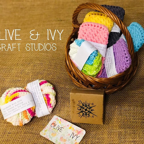 Crochet Pots n' Pits Organic Scrubbie Rounds by Vanessa Bunting