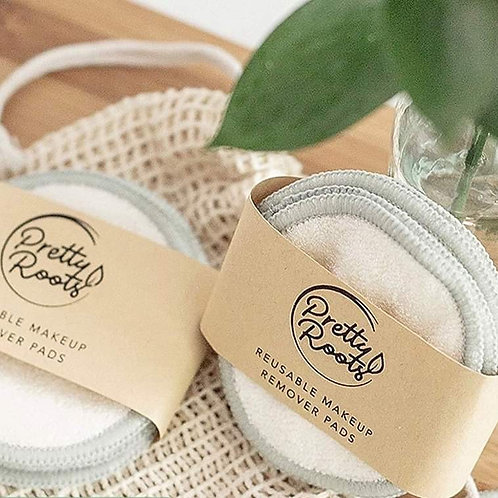 Pretty Roots Cotton & Bamboo Makeup Remover Pads x 6