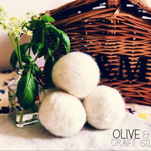 Natural Wool Tumble Dryer Balls