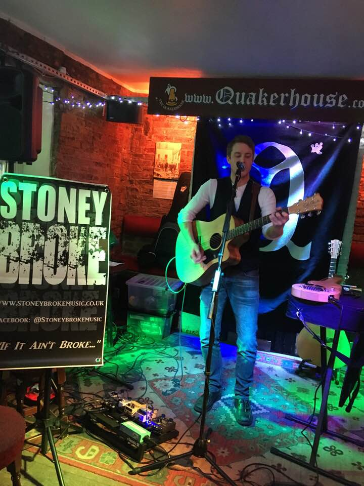 Stoney Broke Live at The Quakerhouse