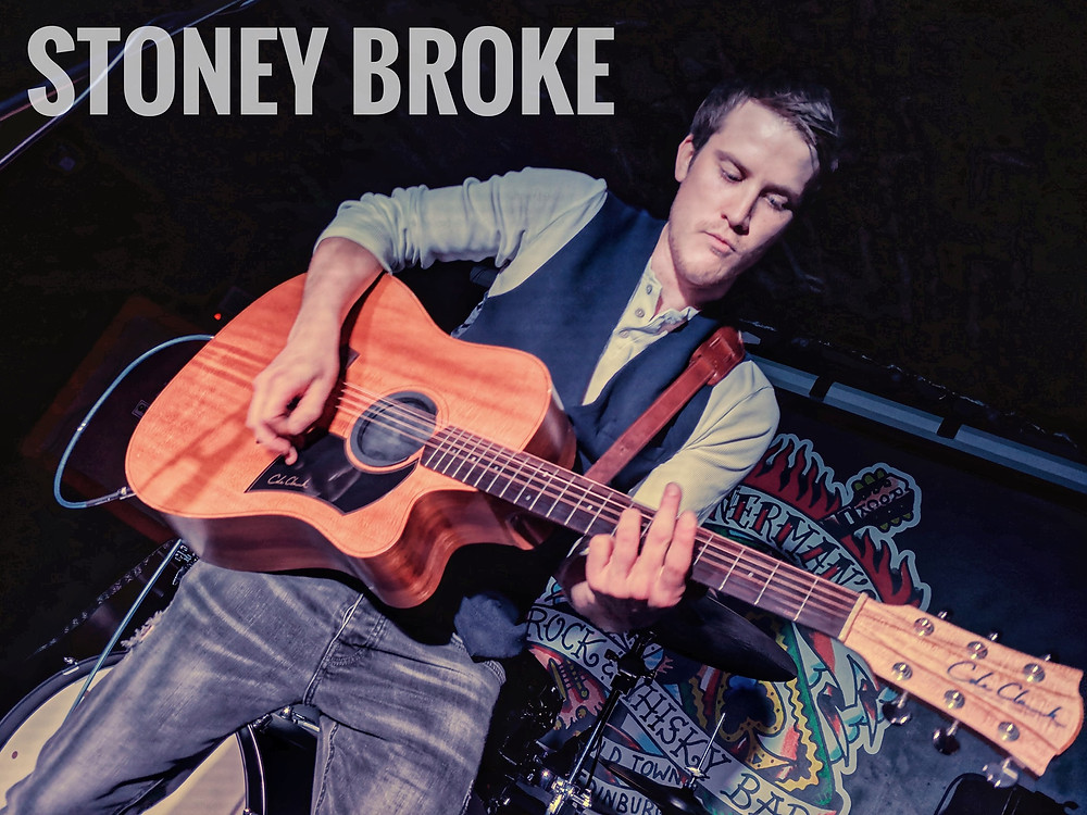 Stoney Broke Live at Bannermans via Waysted Photography
