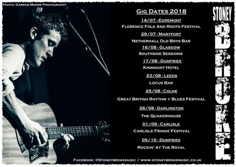 Tour Dates for August!