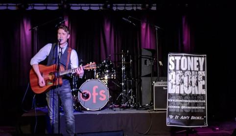 Stoney Broke @ Old Fire Station, Carlisle. 2/12/17