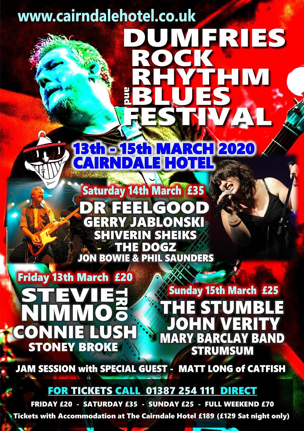 Dumfries Rock Rhythm and Blues Festival