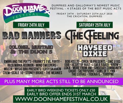 Doonhame Festival 2020