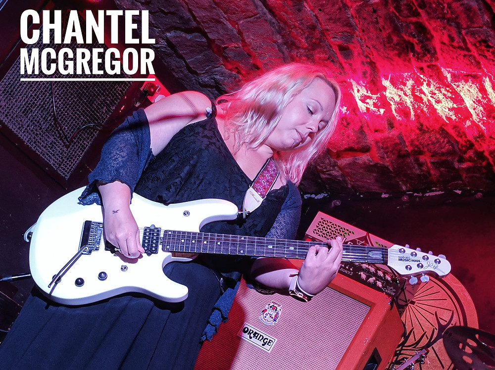 Chantel McGregor at Bannermans via Waysted Photography