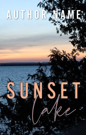 Sunset Lake - Pre Made Cover