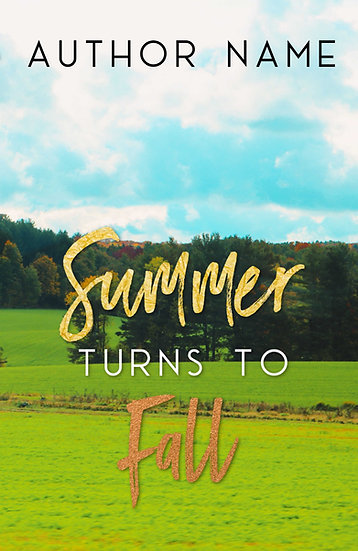 Summer Turns To Fall - Pre Made Cover
