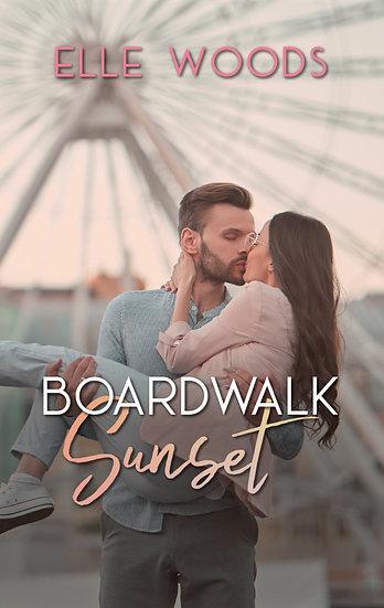 Boardwalk Sunset - Pre Made Cover