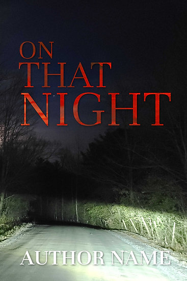 On That Night - Pre Made Cover