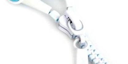 copy of mydoodah Graffiti Zip Headphone Black with