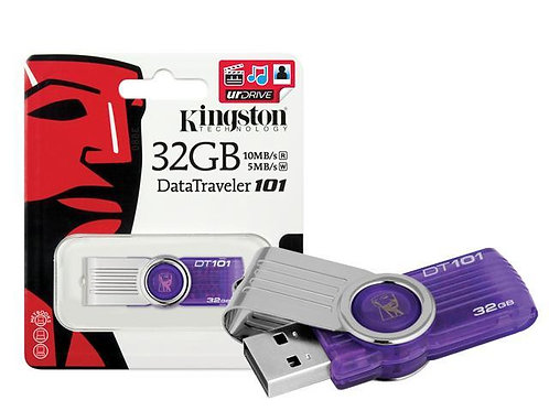 Kingston usb 32GB 2.0 flash pen drive