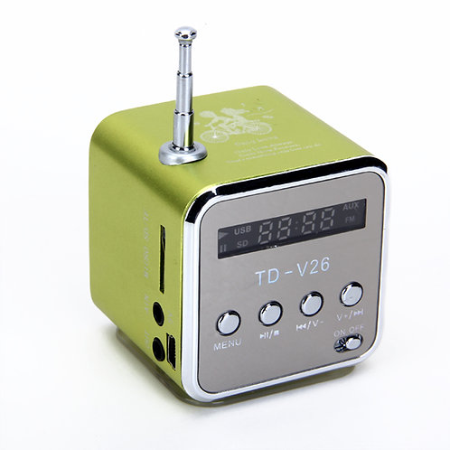 TD-V26 Portable Mini Digital Speaker