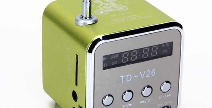 TD-V26 Portable Mini Digital Speaker