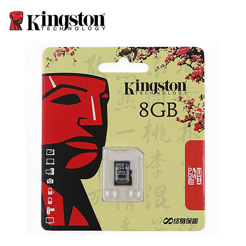KINGSTON 8GB SD CARD