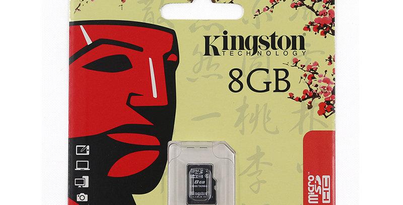 KINGSTON 8GB SD CARD